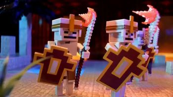 Minecraft Dungeons Action Figures TV Spot, 'Fearsome Foes'