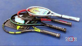 Tennis Express TV Spot, 'Save on New Racquets' - Thumbnail 1