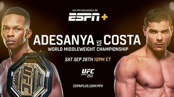 ESPN+ TV Spot, 'UFC 253: Adesanya vs. Costa' Song by ScHoolboy Q