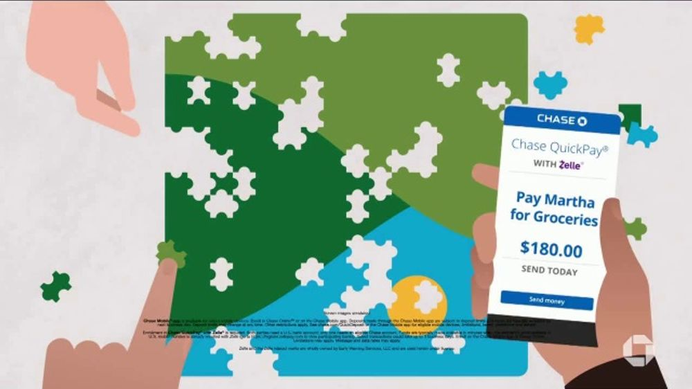 JPMorgan Chase Mobile App TV Commercial, 'All Your Banking Needs From Virtually Anywhere'