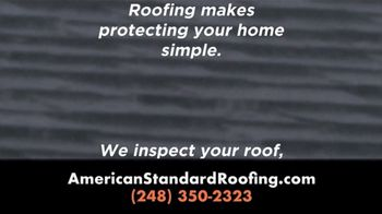 American Standard Roofing TV Spot, 'No Need to Put It Off' - Thumbnail 2