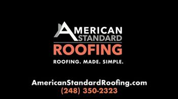 American Standard Roofing TV Spot, 'No Need to Put It Off' - Thumbnail 5