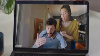 AT&T Fiber TV Spot, 'Working From Home: More Bandwidth: Haircut Tutorial' - Thumbnail 3