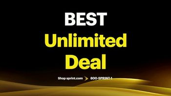 Sprint Best Unlimited Deal TV Spot, 'Samsung Galaxy S10+: Four Lines for $100' - Thumbnail 3