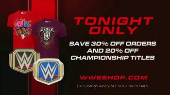 WWE Shop TV Spot, 'Energize Your Style: Save 30 Percent Off Orders & 20 Percent Off Titles' Song by Easy McCoy - Thumbnail 8