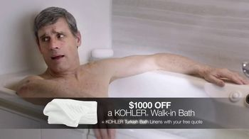 Kohler Walk-In Bath TV Spot, 'Independence: $1,000 Off and Free Turkish Bath Linens' - Thumbnail 6