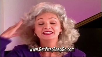 Wrap Snap & Go! TV Spot, 'Lift and Volume' - Thumbnail 3