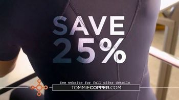 Tommie Copper Shoulder Centric Support Shirt TV Spot, 'Wearable Wellness Compression: 25 Percent'
