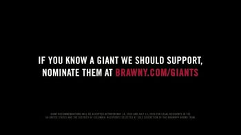 Brawny TV Spot, 'Giants Initiative' Song by GoldFord - Thumbnail 7