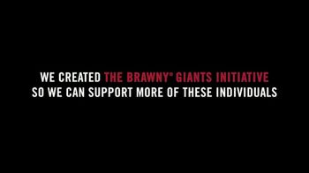 Brawny TV Spot, 'Giants Initiative' Song by GoldFord - Thumbnail 6
