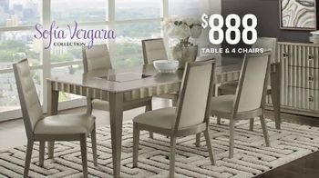 Rooms to Go Memorial Day Sale TV Spot, 'Sofia Vergara Collection Dining Sets: $888' - Thumbnail 5