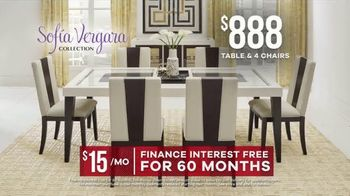 Rooms to Go Memorial Day Sale TV Spot, 'Sofia Vergara Collection Dining Sets: $888' - Thumbnail 6