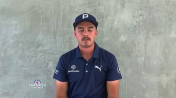 Farmers Insurance TV Spot, 'TaylorMade Driving Relief: Thank You Fans' Featuring Rickie Fowler - Thumbnail 1