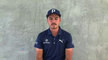 Farmers Insurance TV Spot, 'TaylorMade Driving Relief: Thank You Fans' Featuring Rickie Fowler - Thumbnail 5