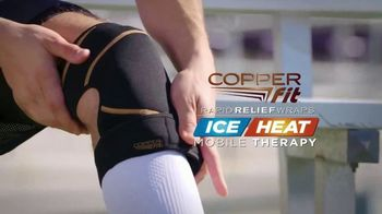 Copper Fit Rapid Relief Knee Wraps TV Spot, 'The Best Solution'