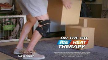 Copper Fit Rapid Relief Knee Wraps TV Spot, 'The Best Solution' - Thumbnail 4