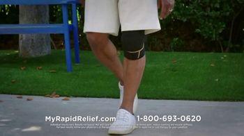 Copper Fit Rapid Relief Knee Wraps TV Spot, 'The Best Solution' - Thumbnail 6