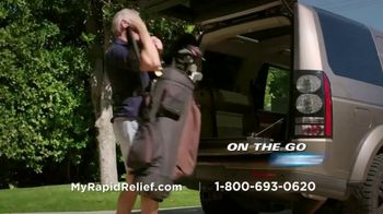 Copper Fit Rapid Relief Knee Wraps TV Spot, 'The Best Solution' - Thumbnail 7