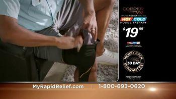 Copper Fit Rapid Relief Knee Wraps TV Spot, 'The Best Solution' - Thumbnail 8