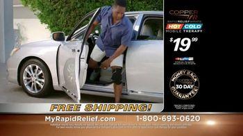 Copper Fit Rapid Relief Knee Wraps TV Spot, 'The Best Solution' - Thumbnail 9