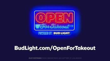 Bud Light TV Spot, 'Open for Takeout' - Thumbnail 4