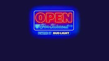 Bud Light TV Spot, 'Open for Takeout' - Thumbnail 1