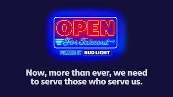Bud Light TV Spot, 'Open for Takeout'