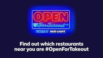 Bud Light TV Spot, 'Open for Takeout' - Thumbnail 3