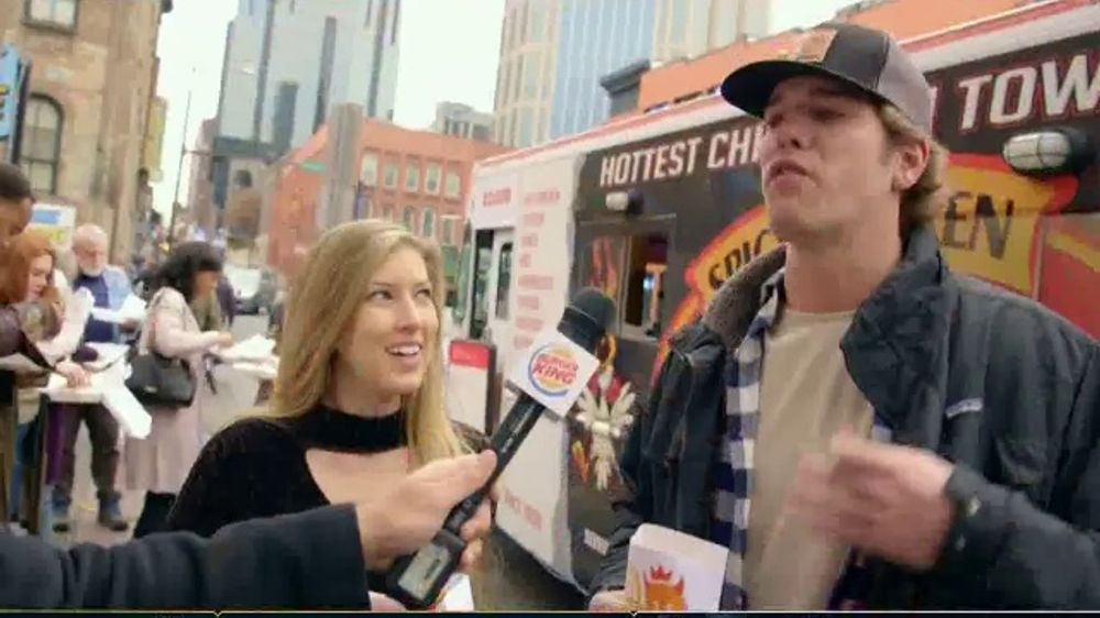 Burger King Spicy Nuggets TV Commercial, 'Wait 'Til You Taste These: Free Delivery'