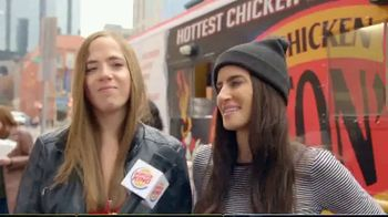 Burger King Spicy Nuggets TV Spot, 'Wait 'Til You Taste These: Free Delivery' - Thumbnail 3
