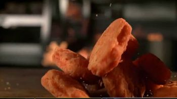Burger King Spicy Nuggets TV Spot, 'Wait 'Til You Taste These: Free Delivery' - Thumbnail 4