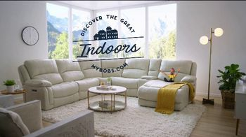 Bob's Discount Furniture TV Spot, 'Discover the Great Indoors'