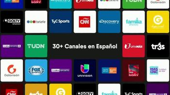 fuboTV TV Spot, '30+ canales' [Spanish]