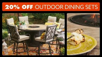 Big Lots Big Memorial Day Sale TV Spot, 'Outdoor Dining Sets'