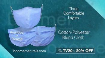 Boomer Naturals Face Masks TV Spot, 'Three Layers' - Thumbnail 3