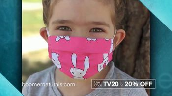 Boomer Naturals Face Masks TV Spot, 'Three Layers'