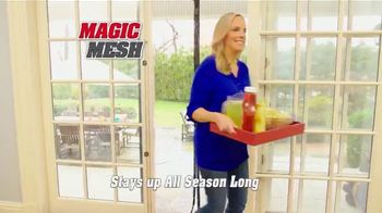Magic Mesh TV Spot, 'Hands-Free Screen Door'