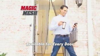 Magic Mesh TV Spot, 'Hands-Free Screen Door' - Thumbnail 6