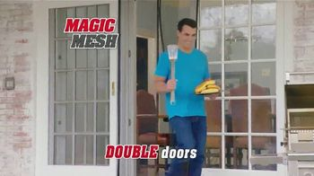 Magic Mesh TV Spot, 'Hands-Free Screen Door' - Thumbnail 7