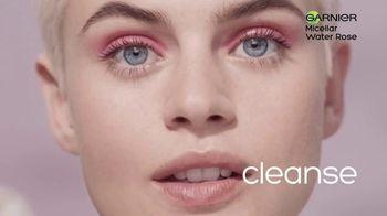 Garnier SkinActive Water Rose Micellar Cleansing Water TV Spot, 'Magnet' - Thumbnail 5