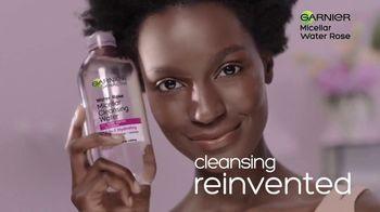 Garnier SkinActive Water Rose Micellar Cleansing Water TV Spot, 'Magnet' - Thumbnail 8