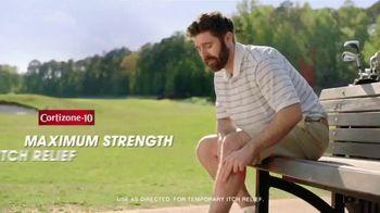 Cortizone 10 Calming Aloe Vera TV Spot, 'Golfing: Overnight Itch Relief' - Thumbnail 3
