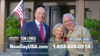 NewDay USA TV Spot, 'Spouses of Veterans' - 33 commercial airings
