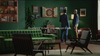 TD Ameritrade TV Spot, 'Green Room: Darts'