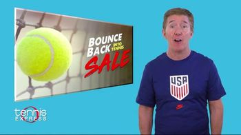 Tennis Express Bounce Back Into Tennis Sale TV Spot, 'Special Savings'
