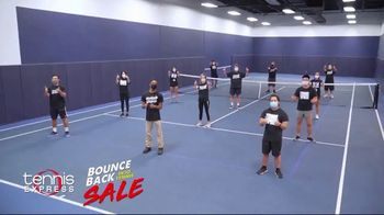 Tennis Express Bounce Back Into Tennis Sale TV Spot, 'Special Savings' - Thumbnail 2