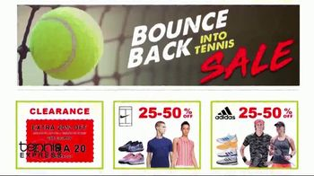 Tennis Express Bounce Back Into Tennis Sale TV Spot, 'Special Savings' - Thumbnail 4