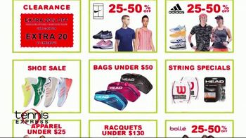 Tennis Express Bounce Back Into Tennis Sale TV Spot, 'Special Savings' - Thumbnail 5