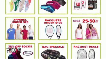 Tennis Express Bounce Back Into Tennis Sale TV Spot, 'Special Savings' - Thumbnail 6