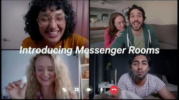 Facebook Messenger Rooms TV Spot, 'Share a Room' - Thumbnail 3